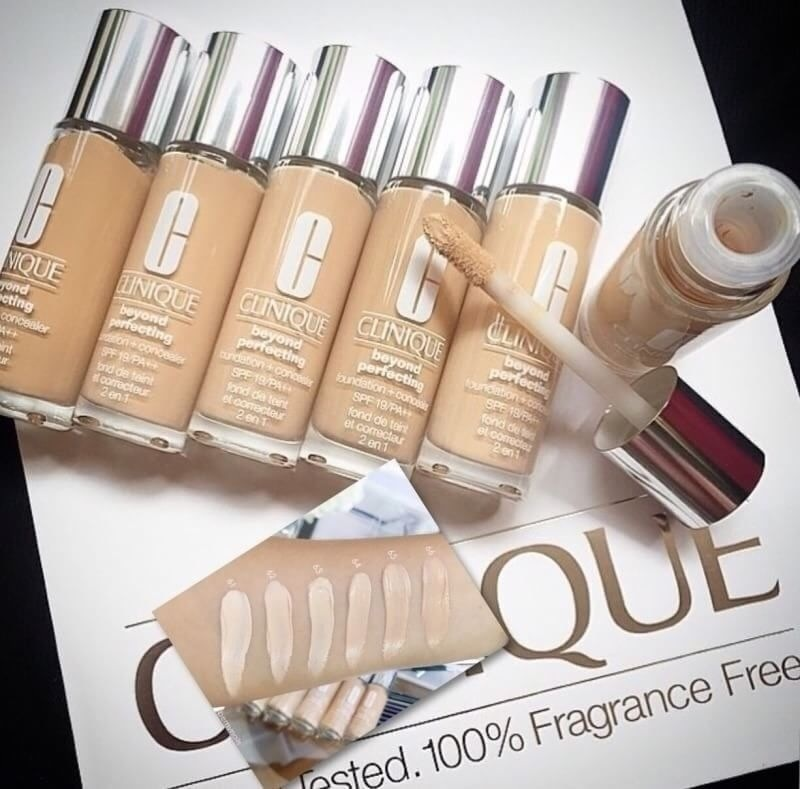 NEW #Clinique Beyond Perfecting Foundation + Concealer SPF 19/PA++ ขนาดปกติ 30ml