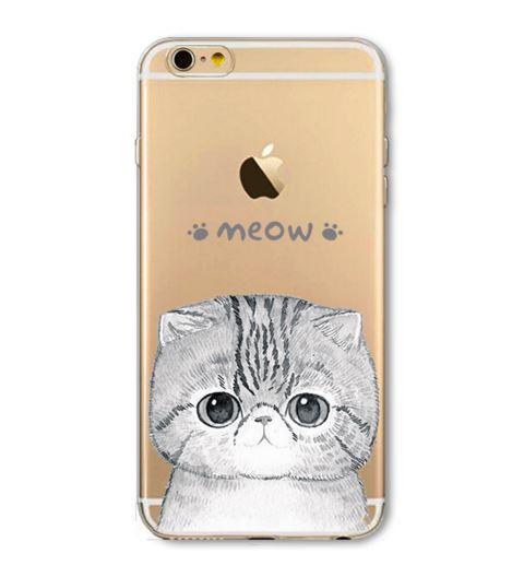 เคสไอโฟน4 ฝาหลังรูปแมวและสัตว์ ให้เลือกหลายแบบ