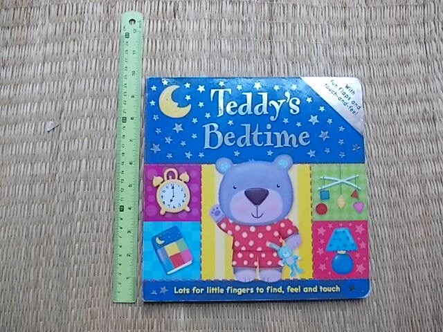Teddy's Bedtime (With Fun Flaps and Touch-And-Feel) Board book 12 pages ราคา 180