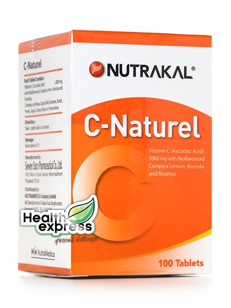 Nutrakal C Natural นูทราแคล ซี แนทเชอเรล บรรจุ 100 เม็ด