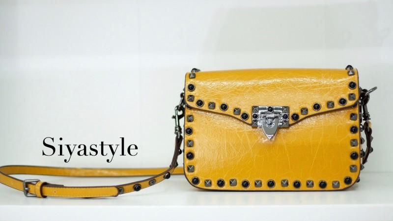 พร้อมส่ง กระเป๋าสะพายข้างผู้หญิง VN bag [สีเหลือง]