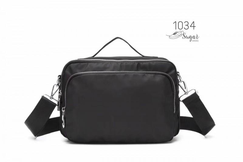 พร้อมส่ง กระเป๋าสะพาย Crossbody -1034 [สีดำ]
