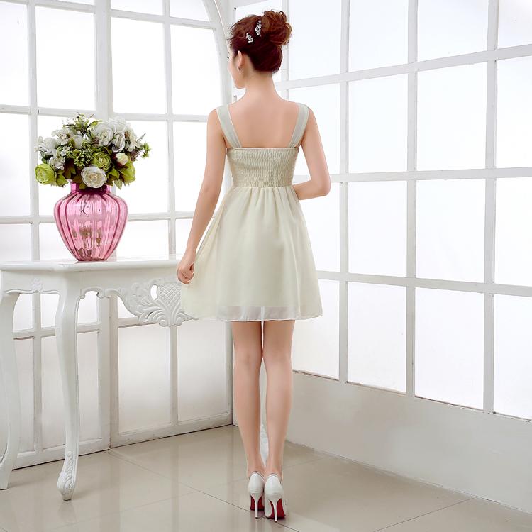 รับตัวแทนจำหน่ายชุดเดรสออกงานเกาหลีสีขาวอมเขียว