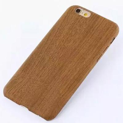 เคสลายไม้ ( เคสยาง ) iPhone6+