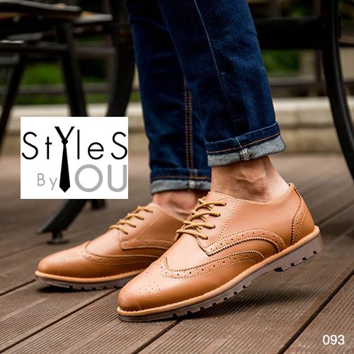 รองเท้าผ้าแฟชั่นผู้ชาย ทรงsport วัสดุคุณภาพดี หนังPU เนื้อนิ่ม มี 3 สี พร้อมส่ง
