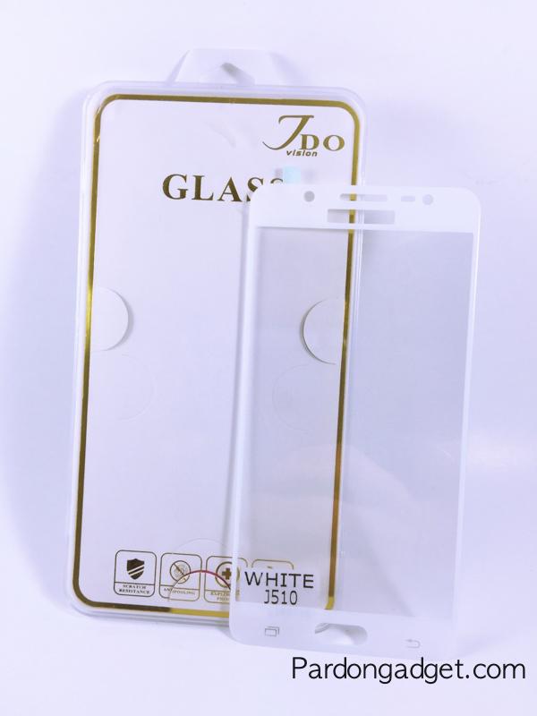 ฟิล์มกระจกเต็มจอ J5(2016) สีขาว