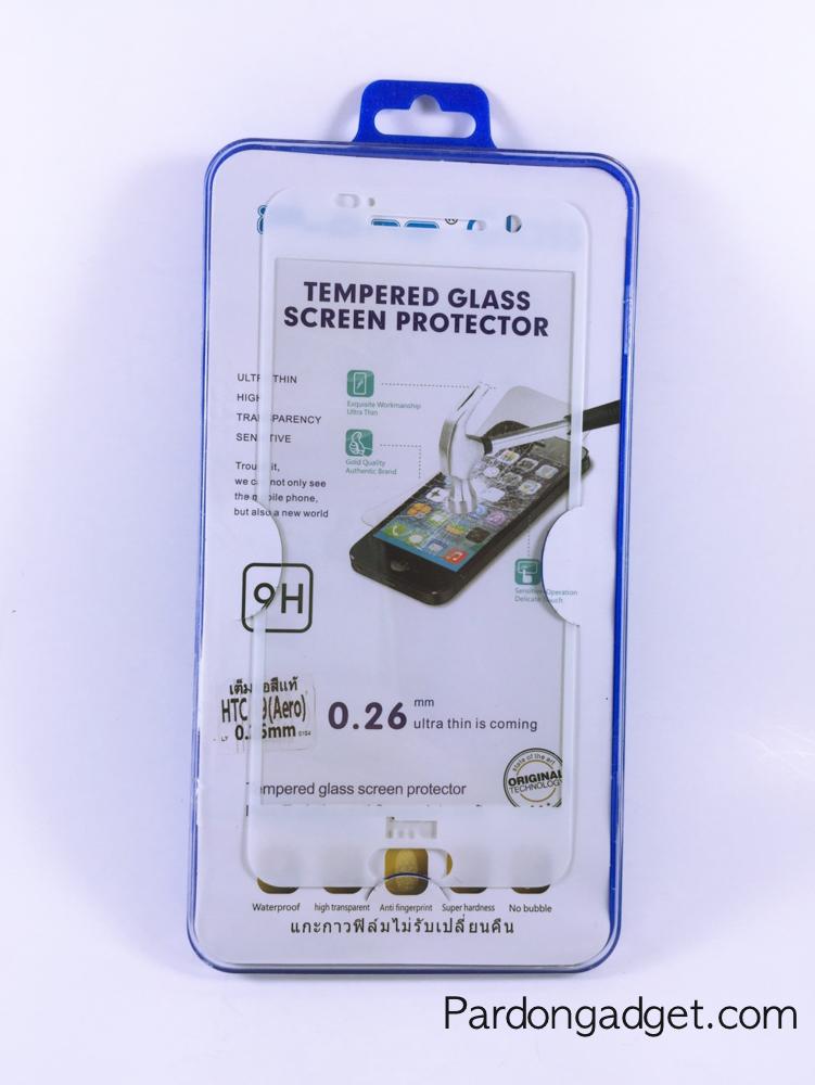 ฟิล์มกระจกเต็มจอ HTC A9(Aero) สีขาว