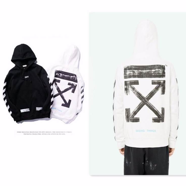เสื้อ Off-White x Brushstroke printed Hoodie