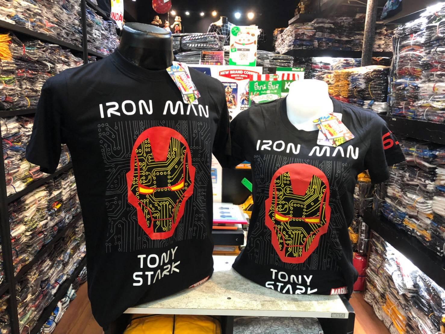 ไอรอน แมน สีดำ (Ironman Tony Spark black)