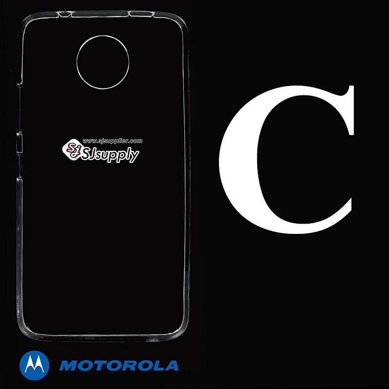 เคส Moto C ซิลิโคน สีใส