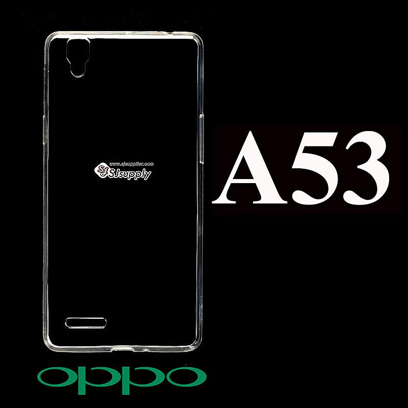 เคส Oppo A53 ซิลิโคน สีใส