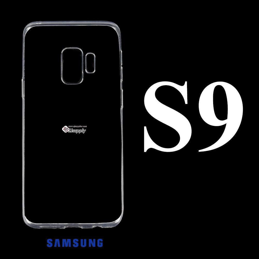 เคส Samsung S9 ซิลิโคน สีใส