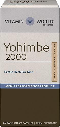 Vitamin World Yohimbe 2000 mg 50 เม็ด สมุนไพรโบราณที่ช่วยเรื่องการหย่อนสมรรถภาพทางเพศจากอเมริกาค่ะ