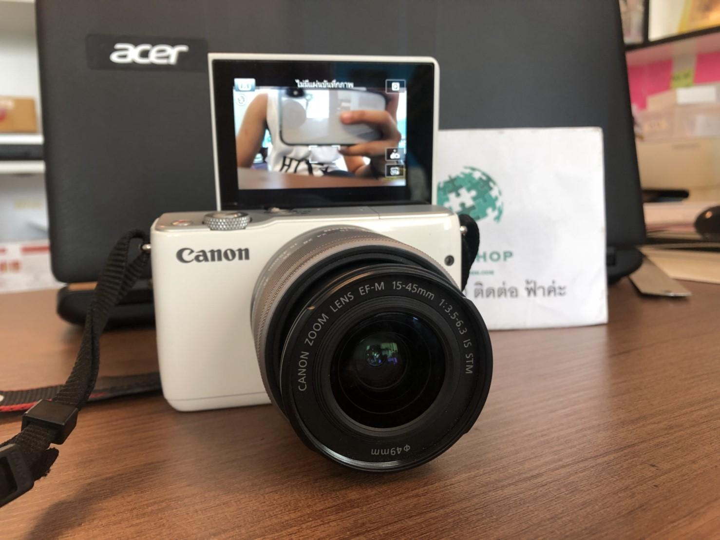 JMM-174 ขายกล้องมือสอง Canon EOS M10
