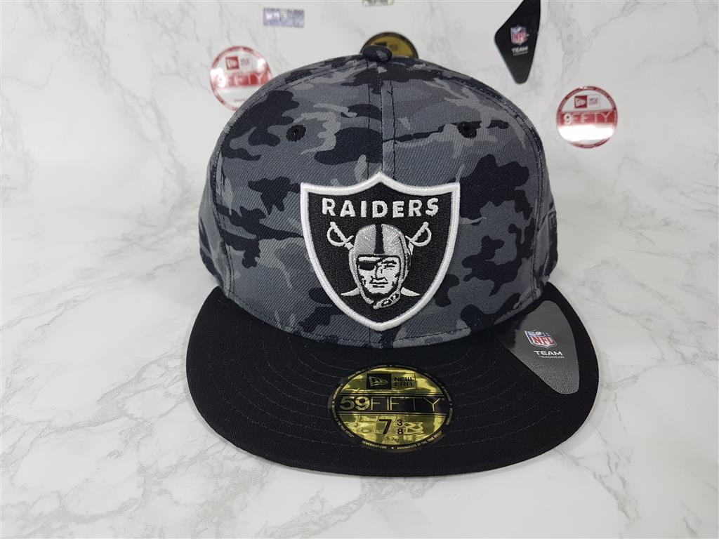 New Era NFL ทีม Oakland Raiders ไซส์ 7 3/8 58.7cm
