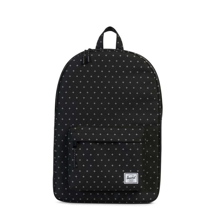 Herschel Classic Backpack - Black Gridlock