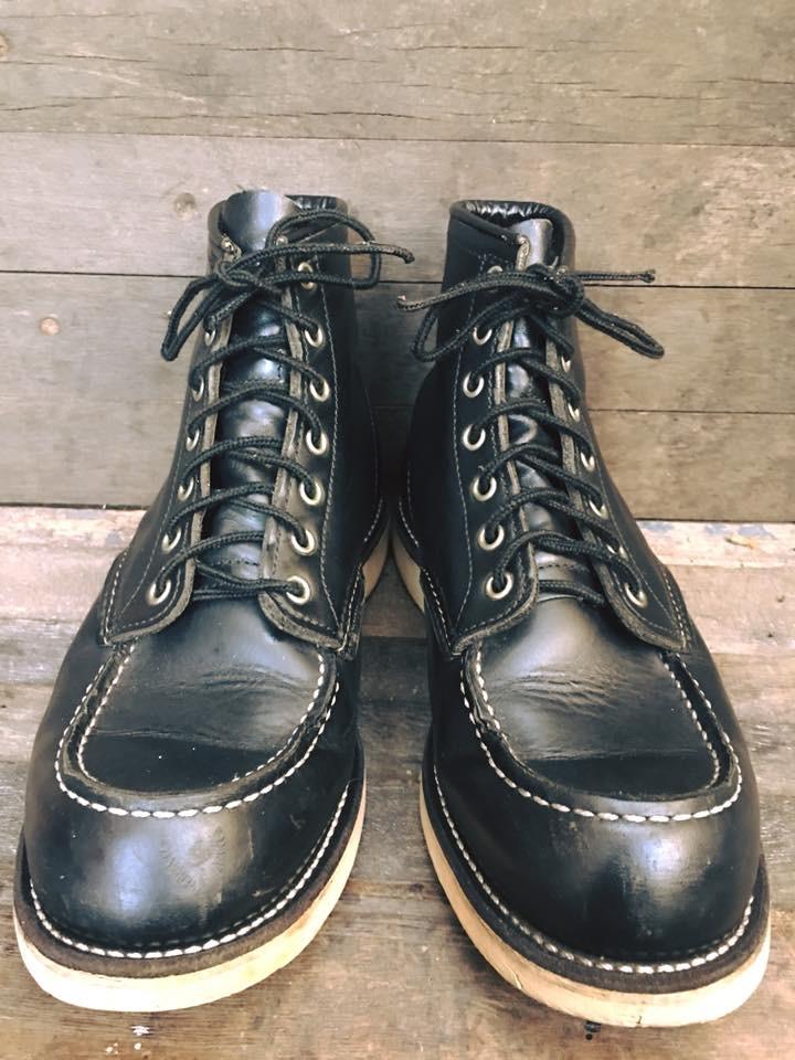 Vintage #Redwing8130 boot6นิ้ว ป้เดิมๆสวยงามมาก เบอร์9E