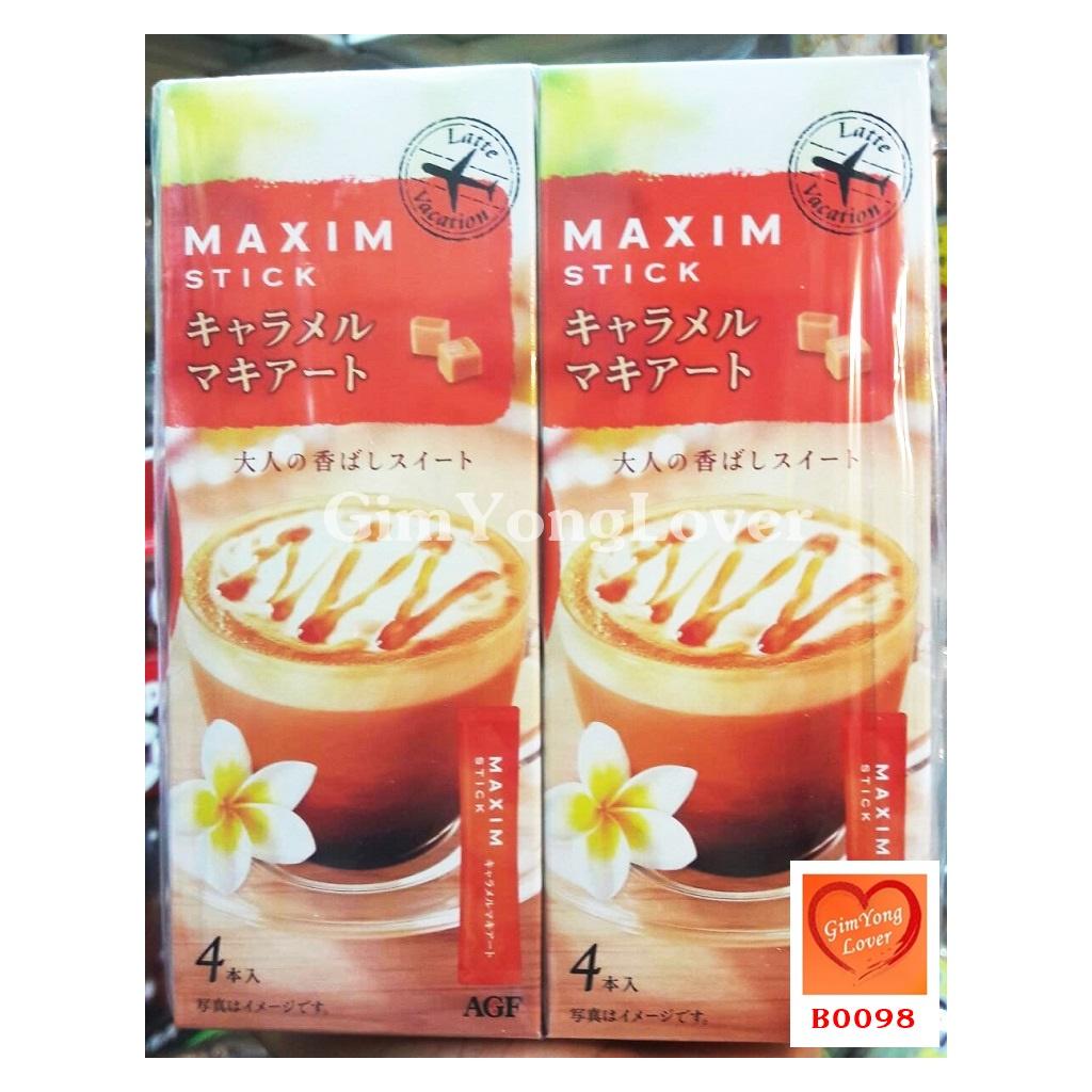 กาแฟแม็กซิมคาราเมลมัคคิอาโต (MAXIM Stick Caramel Macchiato)