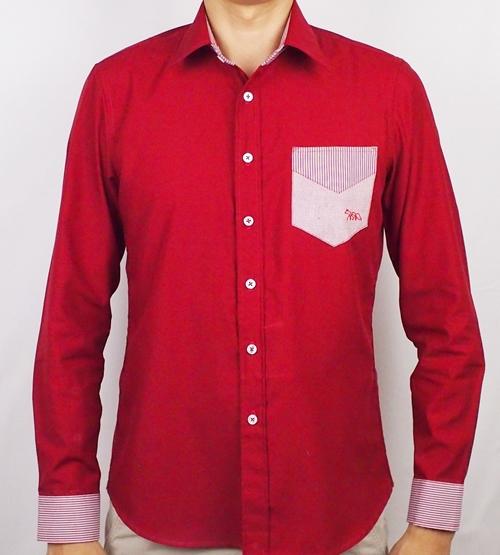 เสื้อเชิ้ตแขนยาว ชาย NANAPA Shirts NA-022
