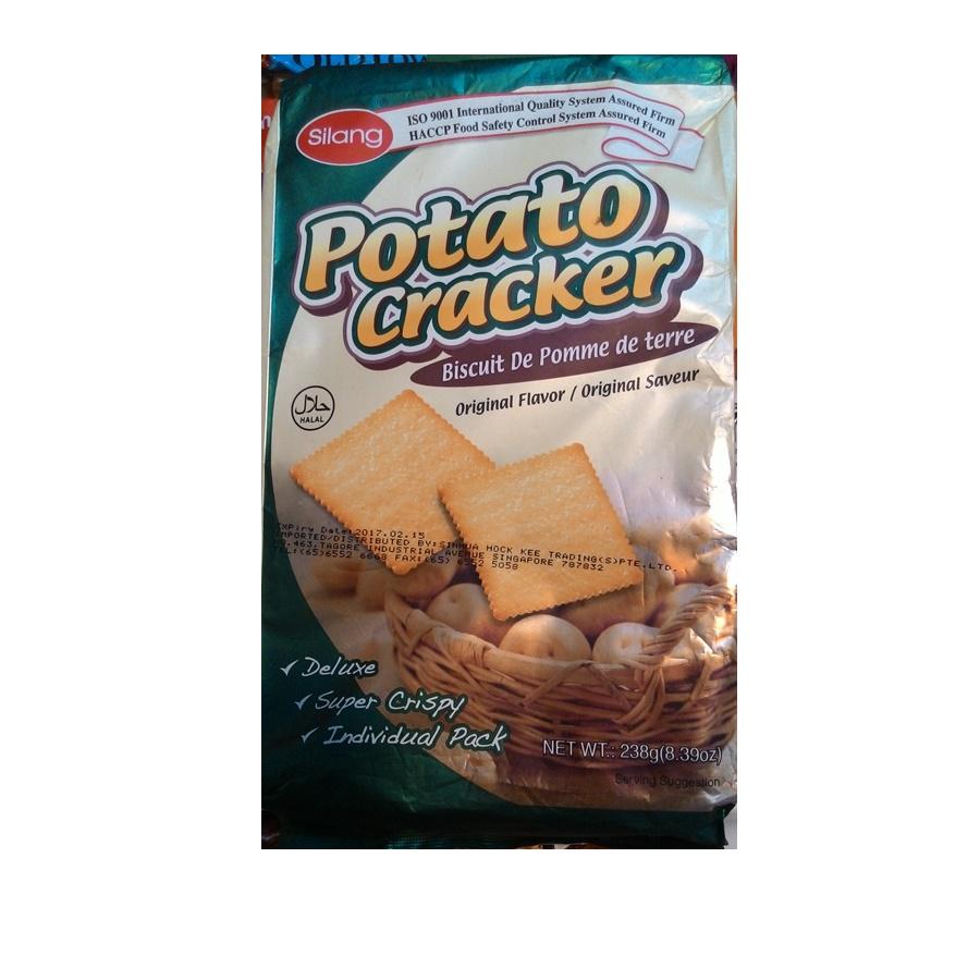 Silang แครกเกอร์มันฝรั่ง (Silang Potato cracker)