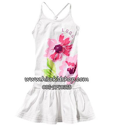 1105 H&M Dress - White ขนาด 12-14 ปี