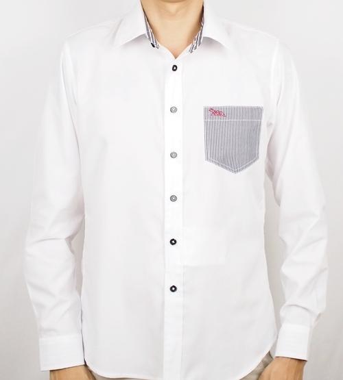 เสื้อเชิ้ตแขนยาว ชาย NANAPA Shirts NA-018