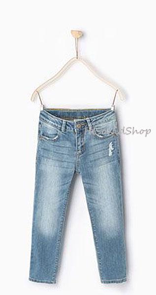 1219 Zara Basic Jeans - Light Blue ขนาด 8 ปี