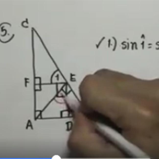 คอร์สติวสอบคณิตO-NETตะลุยโจทย์ อัตราส่วนตรีโกณมิติ