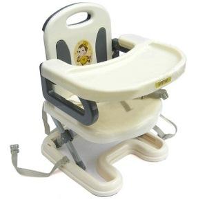 เก้าอี้ทานข้าวเด็ก ปรับระดับได้ มีสายรัดกันตก