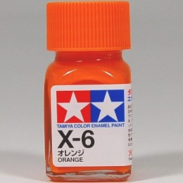 80006 Enamel X6 orange