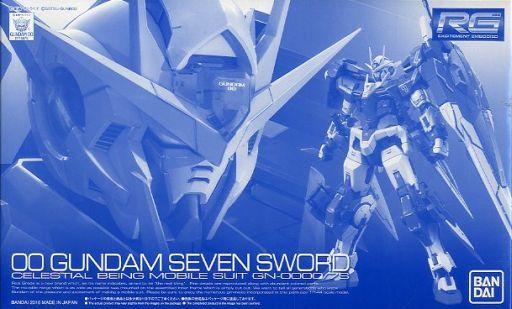 p-bandai RG 1/144 OO GUNDAM SEVEN SWORD