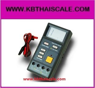 เมกกะโอห์มมิเตอร์ Megohmmeter Insulation Resistance Tester Meter Megger VC60B Megohm 9V DC1000V