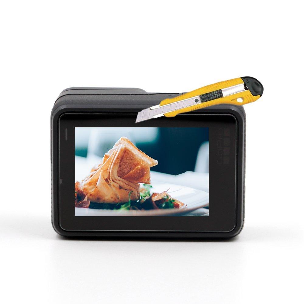 TELESIN Tempered Glass Screen Protector 2 Pack for GoPro Hero 6 5 Black Sport Camera Film Accessory ฟิล์มกระจก Hero 5 6 Black
