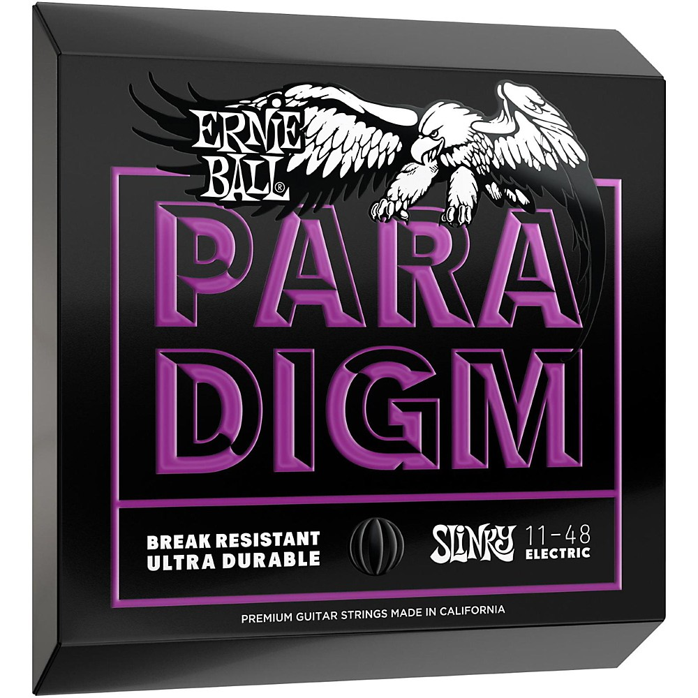 Ernie Ball 2020 Paradigm Power Slinky Electric Guitar Strings 11-48