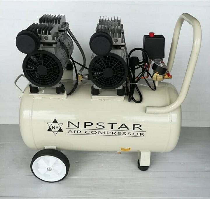 ปั๊มลม ฟรีออย NPSTAR 50 ลิตร
