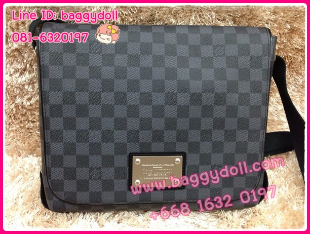 Louis Vuitton Damier Graphite Canvas Brooklyn MM **เกรดท๊อปมิลเลอร์** (Hi-End)