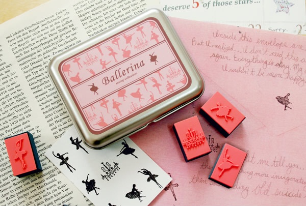 Ballerina Stamp Collection