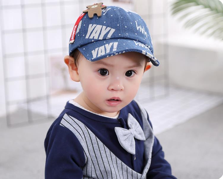 หมวก สีฟ้าอ่อน แพ็ค 5ใบ ไซส์รอบศรีษะ 48cm