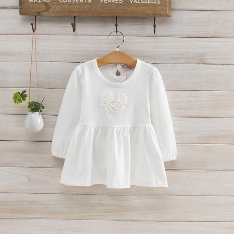 เสื้อ สีขาว แพ็ค 5ชุด ไซส์ 100-110-120-130-140