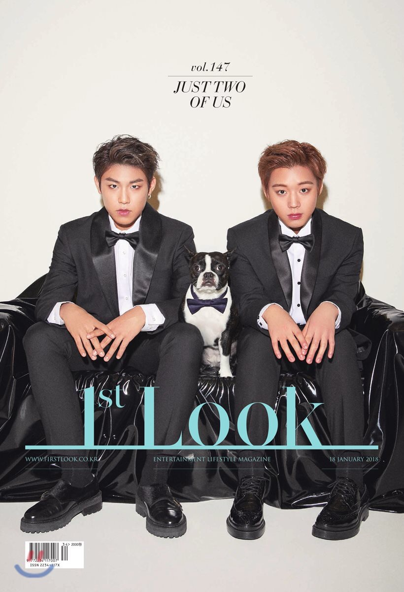 นิตยสาร 1st LOOK ปก Woojin & Jihoon WANNA ONE
