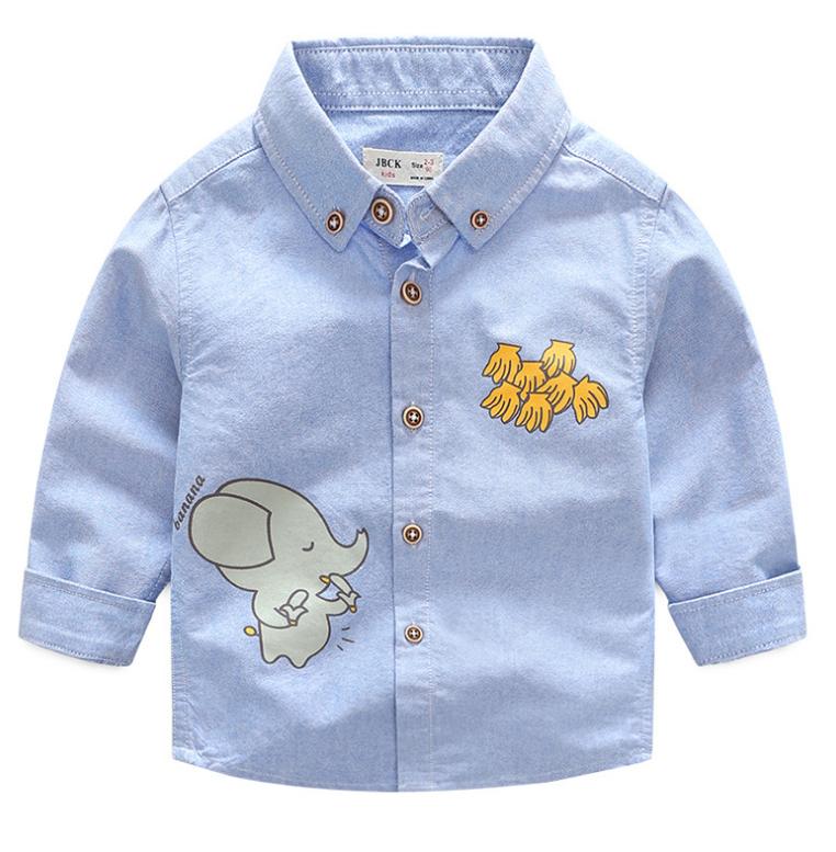 เสื้อ สีฟ้า แพ็ค 5 ชุด ไซส์ 90-100-110-120-130