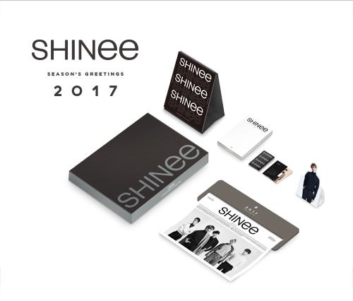 ปฏิทิน (SHINee) - 2017 Season's Greetings