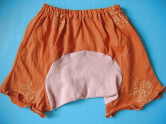 MPG013 กางเกงก้นบาน-ขาสั้นสำหรับสาวน้อย Size 1-3 ขวบ