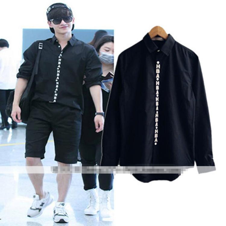 เสื้อเชิ้ต HBA สีดำ