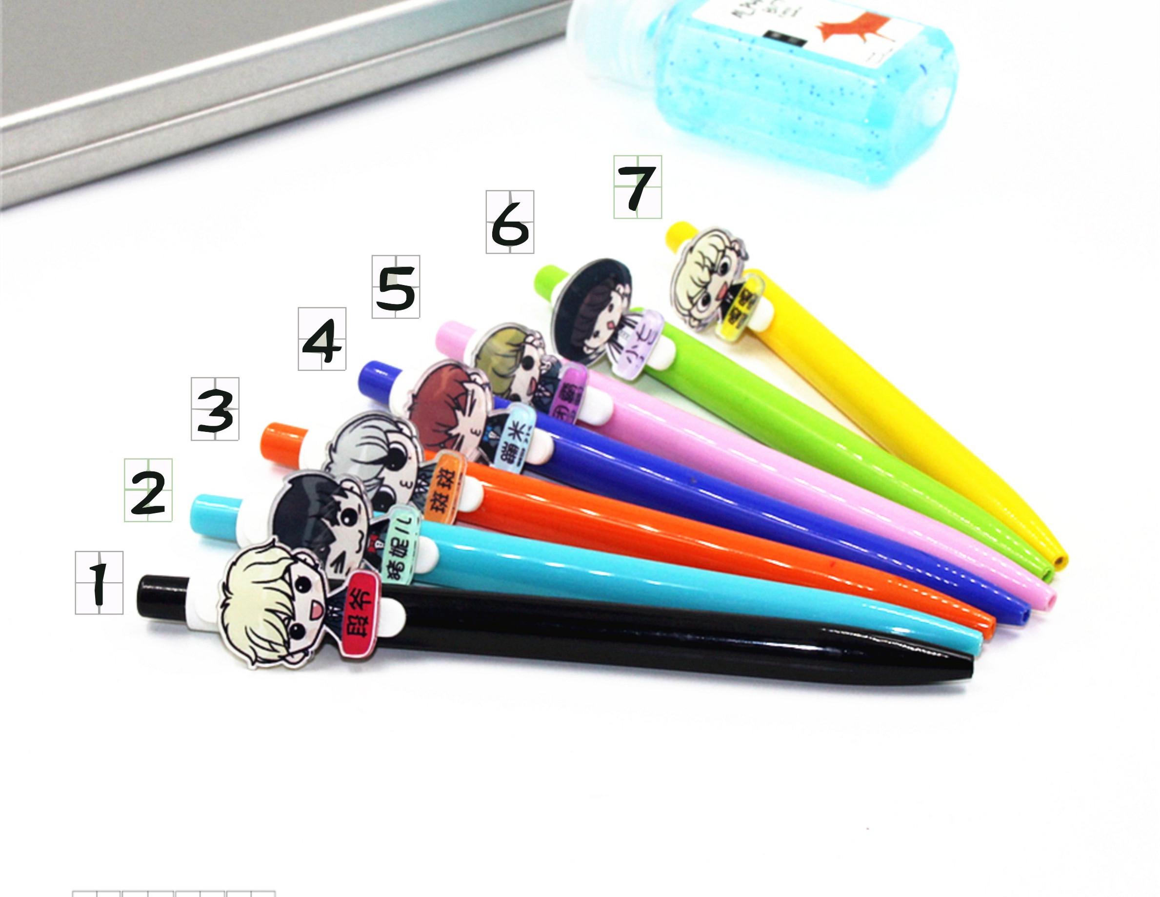 ปากกา GOT7 (เมมเบอร์)