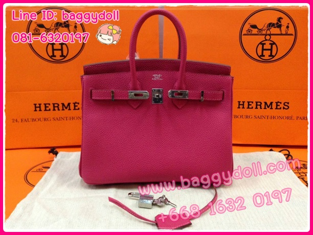 Hermes Birkin25 Togo Leather Silver Hardware **เกรดท๊อปมิลเลอร์** (Hi-End)