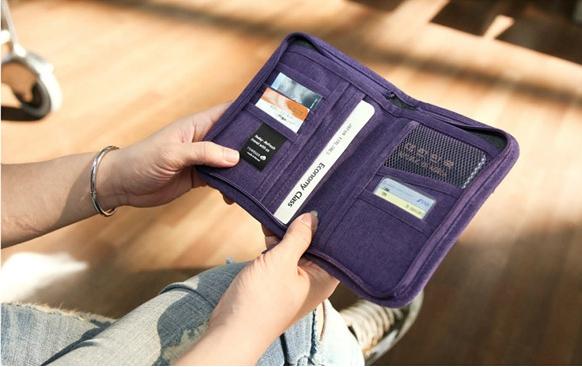 Passport Bag Travelus Purple