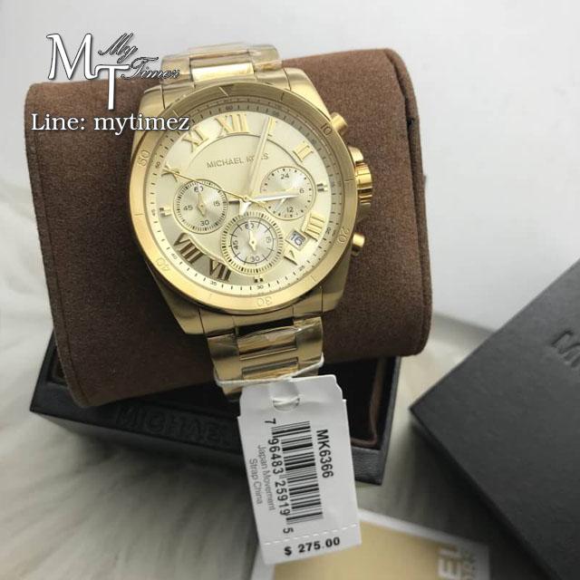 นาฬิกาข้อมือ MICHAEL KORS รุ่น Brecken Chronograph Ladies Watch MK6366