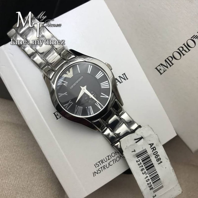 Armani Classic Black Women Watch AR0681