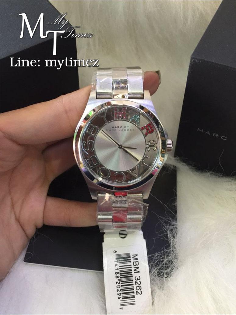 นาฬิกาข้อมือ Marc By Marc Jacobs รุ่น Ladies Henry Skeleton Watch Silver MBM3262